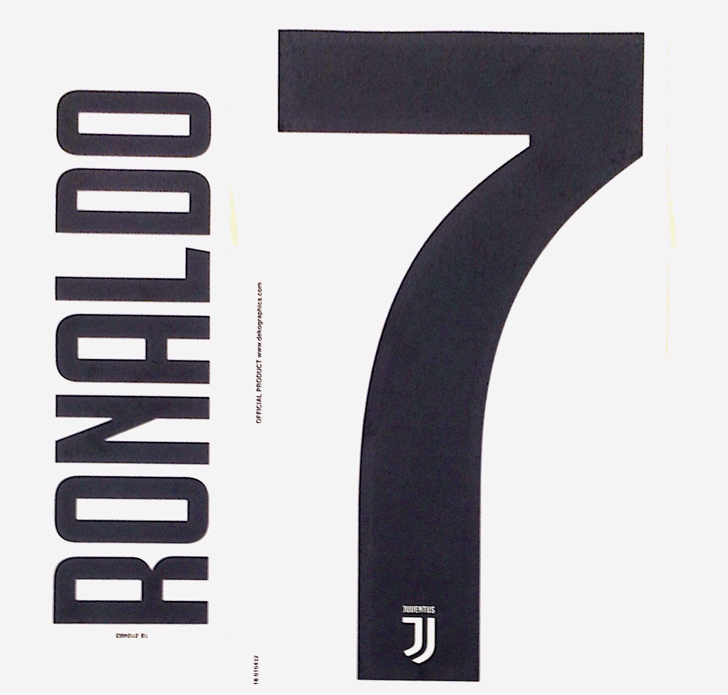 the best attitude 38bb3 69f49 2018-19 Juventus RONALDO 7 Home & Away Shirt OFFICIAL ...